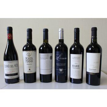Proefpakket rode wijn (Best off onder €10)