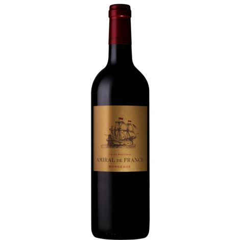 Amiral de France – Bordeaux Rouge AC , 75cl