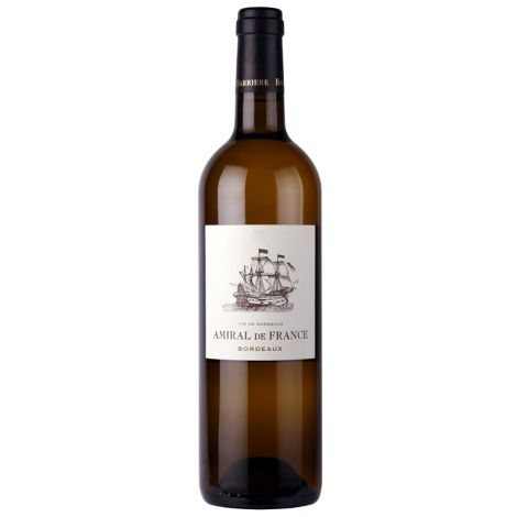 Amiral de France – Bordeaux Blanc AC , 75cl