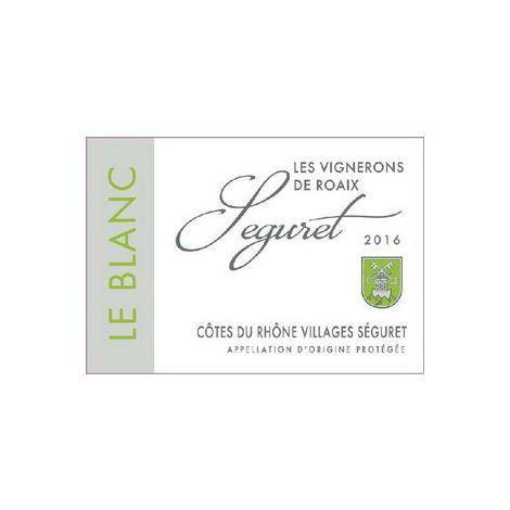 Séguret Blanc - Côtes Du Rhône Villages - Raoix, 75cl