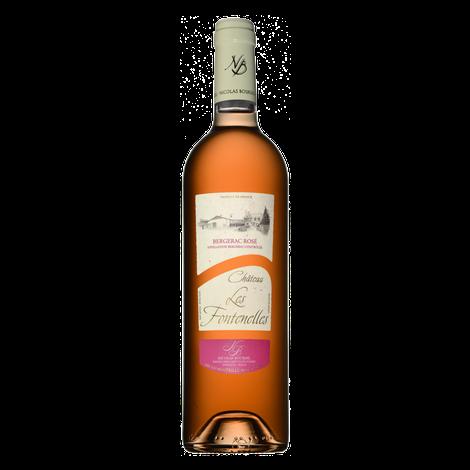 CHÂTEAU LES FONTENELLES - Bergerac Rosé, 75cl