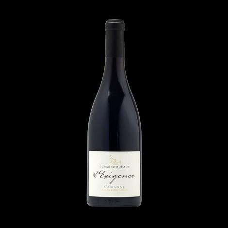 Domaine Boisson – L'Exigence Rouge – Cairanne,  75 cl.