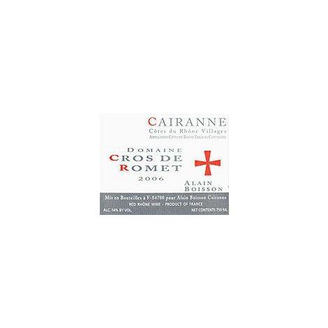 Domaine Cros de Romet – Cairanne – Côtes du Rhône,  75 cl.