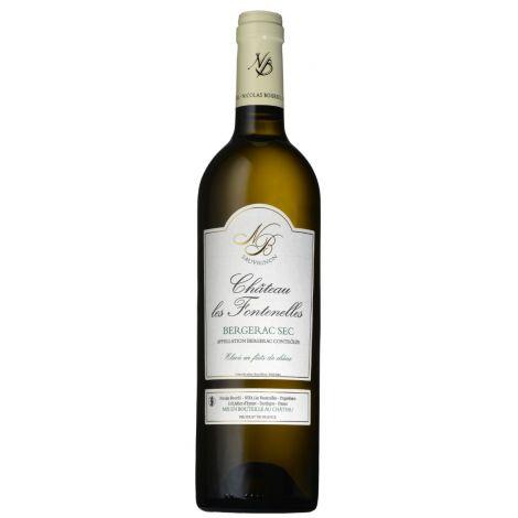 CHÂTEAU LES FONTENELLES - Bergerac Blanc, 75cl