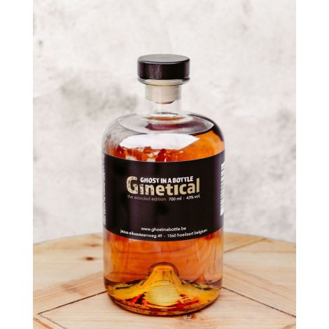 GHOST IN A BOTTLE - Ginetical Wooded Gin, 70cl.