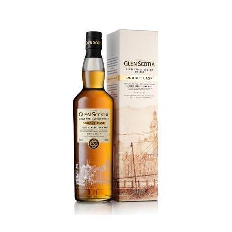 GLEN SCOTIA - Double Cask - Single Malt Scotch Whisky, 75cl.