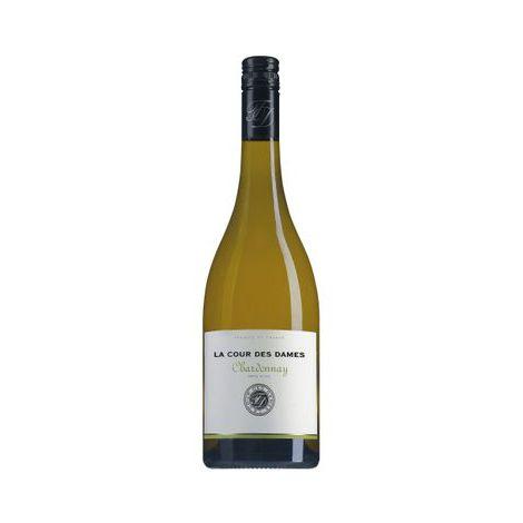 LA COUR DES DAMES - Chardonnay - Pays d'Oc, 75cl