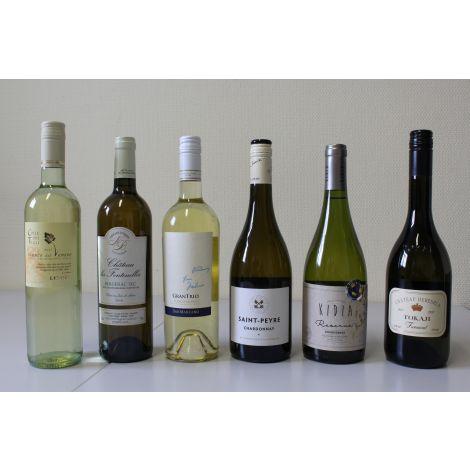 Proefpakket witte wijn (Best off onder €10)