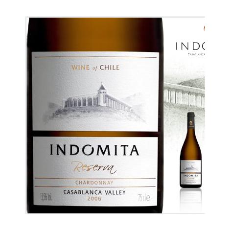 Indomita – Gran Reserva - Chardonnay ,  75 cl.