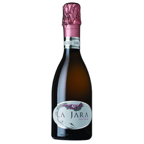 LA JARA – Pinot Grigio rosé - Spumante - Bio, 37.50 cl.
