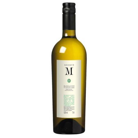RESERVE 'M'  - Marsanne - Viognier - Pays D'Oc, 75cl