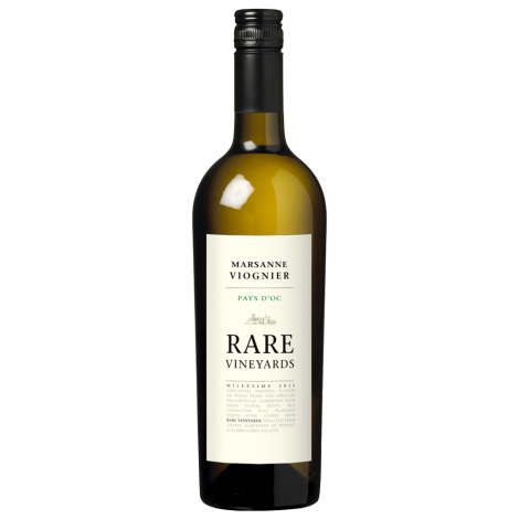 RARE VINEYARDS - Marsanne / Viognier - Pays D'Oc, 75cl