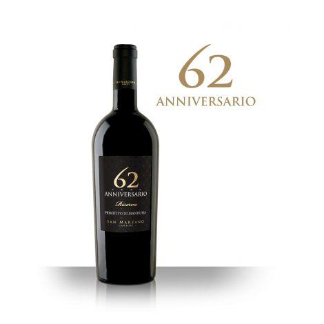 San Marzano – 62 Anniversario - Primitivo di Manduria, 75 cl.