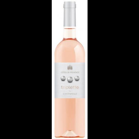 TRIPLETTE - Rosé - Côtes De Provence, 75cl.