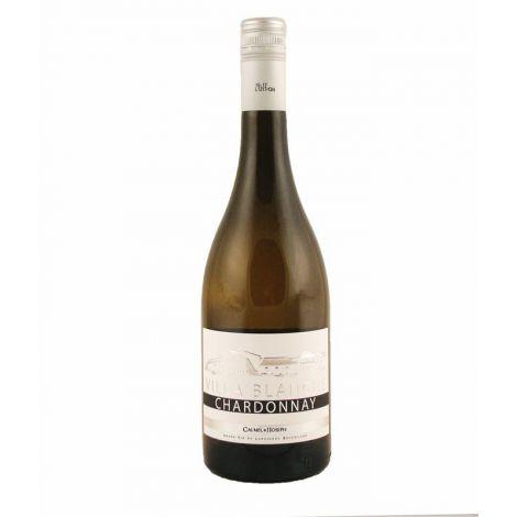 VILLA BLANCHE - Chardonnay - Pays d'Oc, 75 cl.